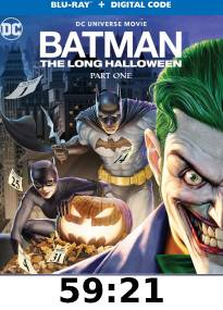 Batman: The Long Halloween Part 1 Blu-Ray Review