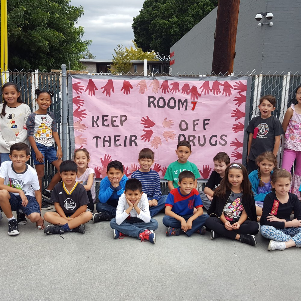 Room 7: Red Ribbon Week (Oct 2016)