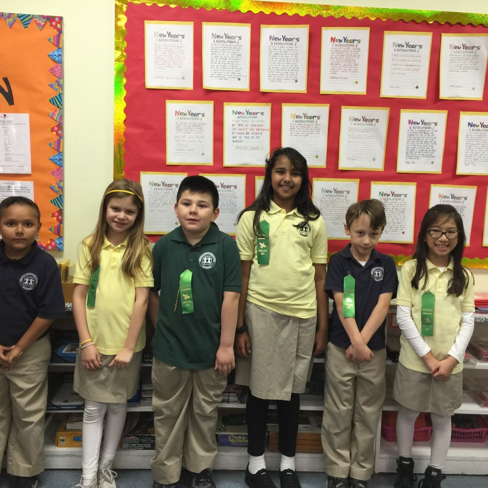 Room 5: Spelling Bee (Jan 2017)