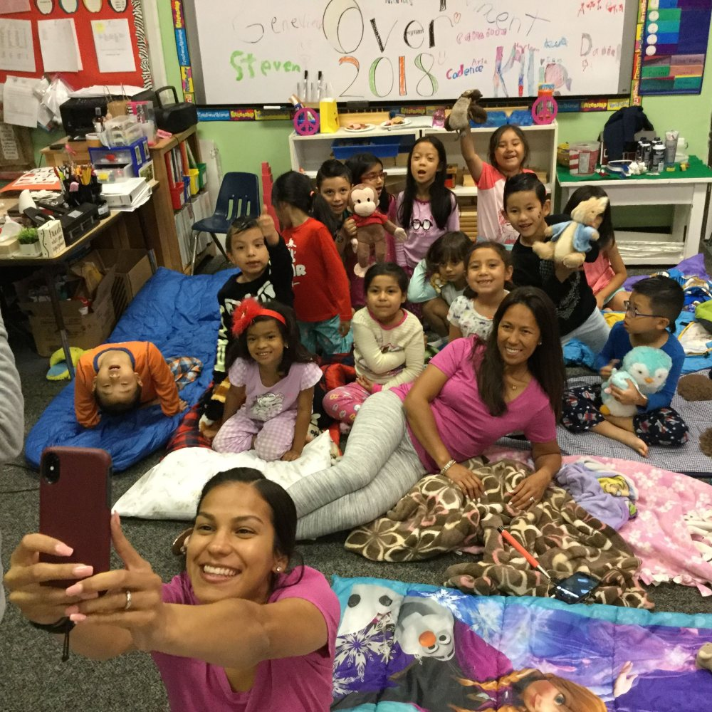 Room 8: Kindergarten Sleepover (June 2018)
