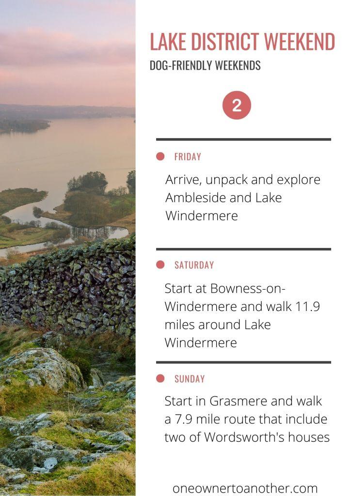 Dog-friendly Lake District Weekend Plan 2