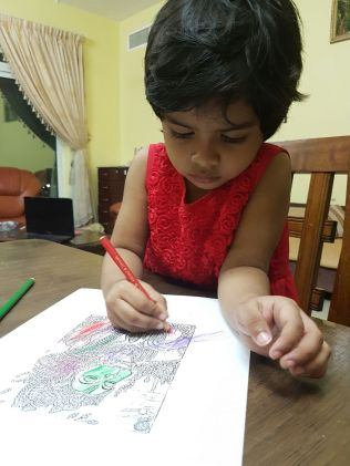 Shriyaa Ranjith ( 3 Yrs )