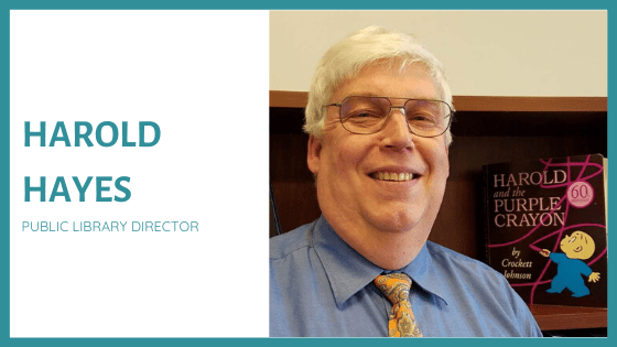 Episode 13: From Reluctant Reader to Librarian with Harold Hayes