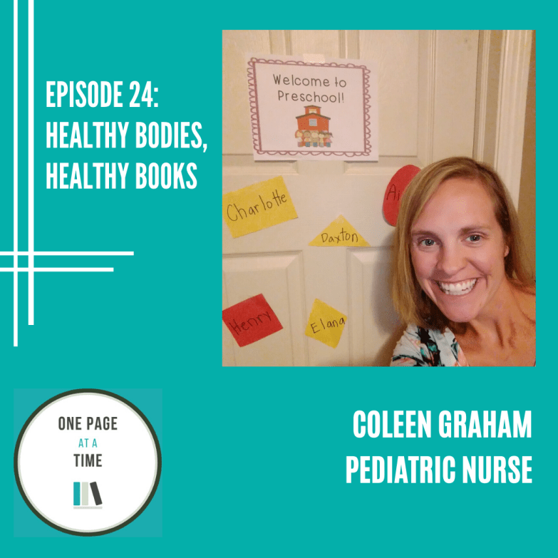 Episode 24: healthy bodies, healthy books with Coleen Graham