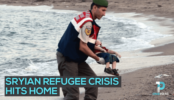 Syrian Refugee Crisis Reaches Home