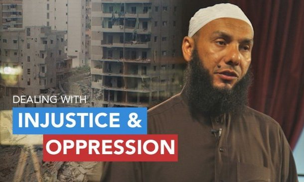 Dealing with Injustice and Oppression