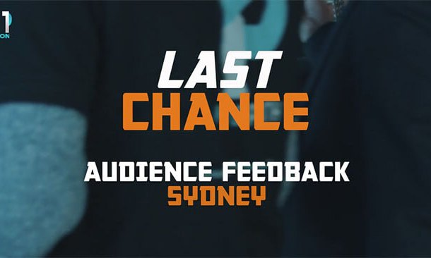LAST CHANCE Premiere Night Feedback