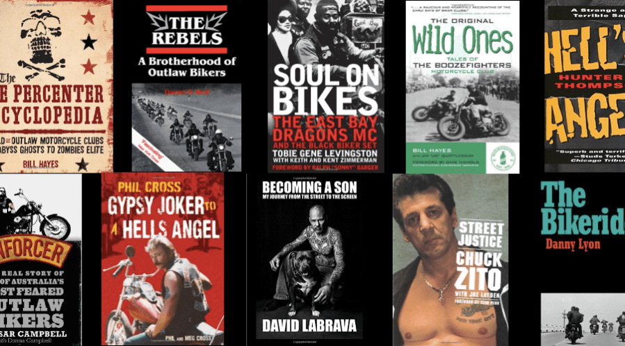 Outlaw Motorcycle Club Books - One Percenter Bikers