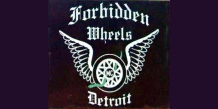 Forbidden Wheels MC patch logo-862x431