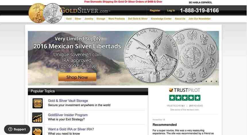 goldsilver website1