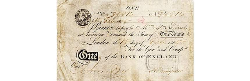 bank of england banknote