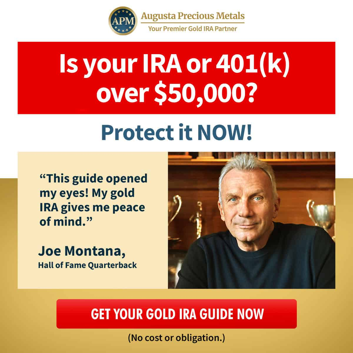 augusta joe montana gold IRA guide $50k offer A v1