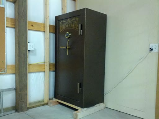 home storage gold ira safe