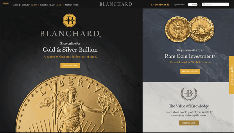 blanchard gold ira review