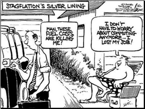 stagflations silver lining