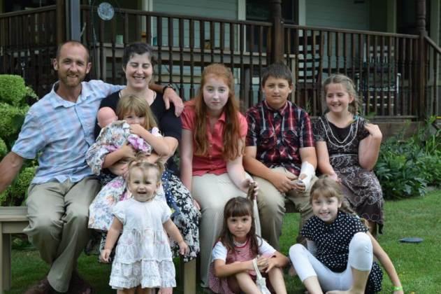 Clark family, Allenton Michigan