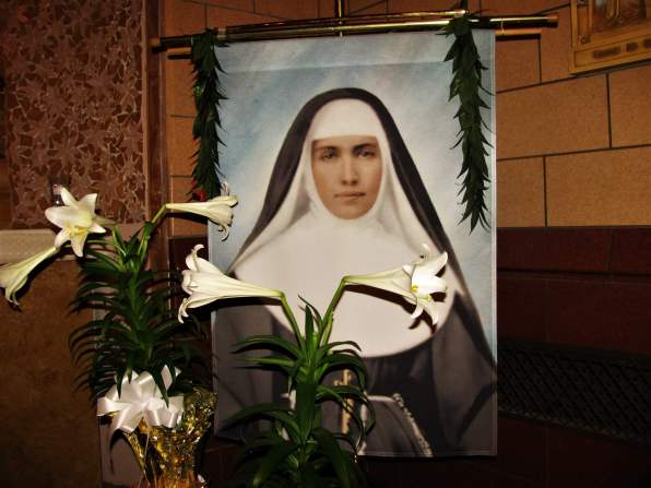 Picture of St. Marianne in chapel