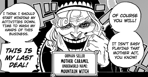 "Mother Carmel is an orphan seller known in the underworld as ""Mountain Witch"""