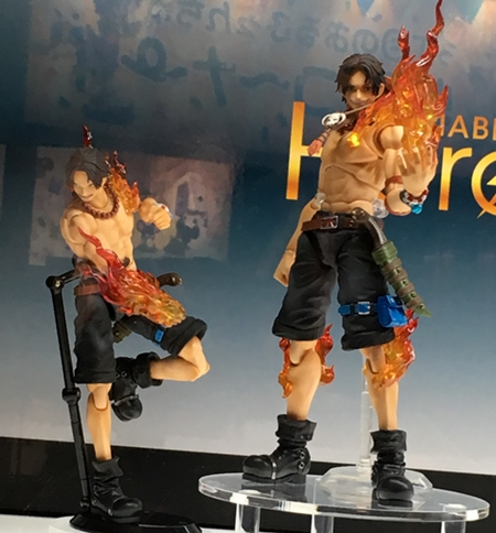 Portgas D. Ace 1/8 Action Figure - ONE PIECE Variable Action Heroes DX