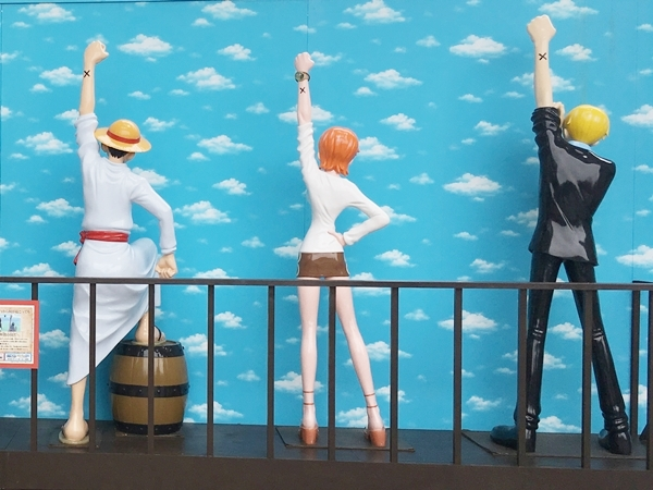 The mark of friendship in ODAIBA 2017 ONE PIECE CHRONICLE