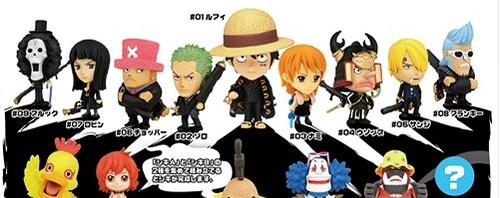 アニキャラヒーローズ ONE PIECE ワンピース 劇場版 ストロングワールド BOX 2014/07/31 発売