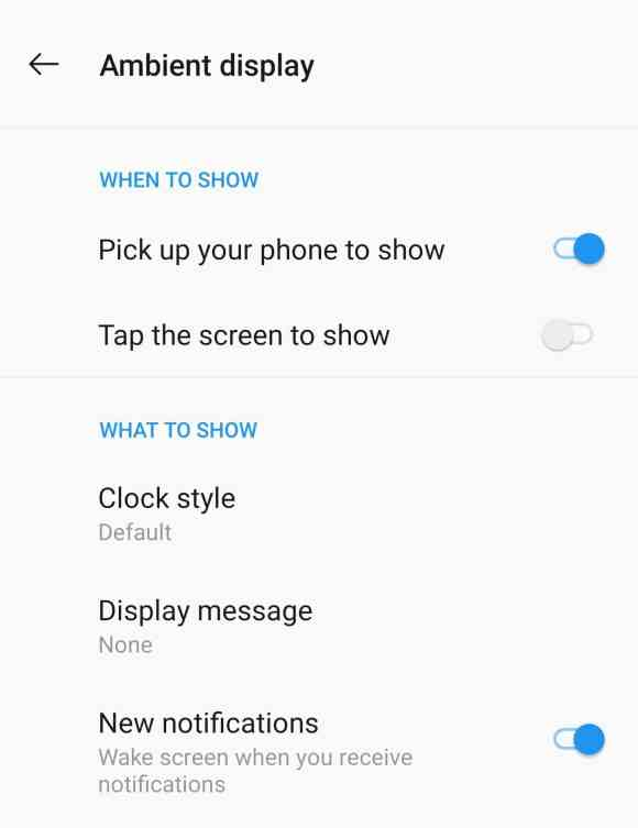 Turn off new notifications to increase battery life in OnePlus 7