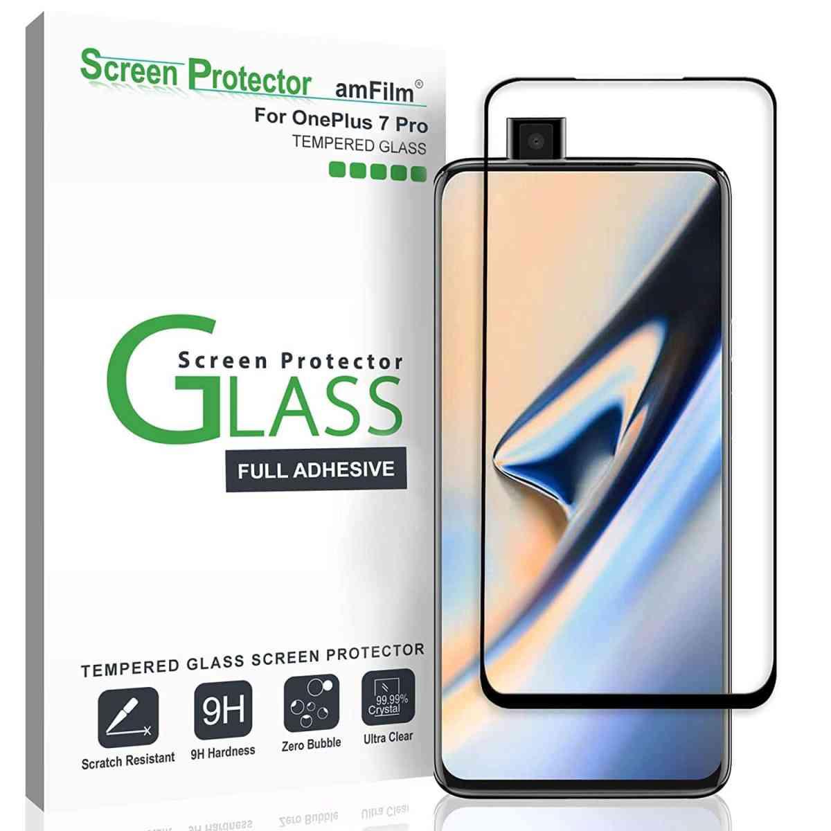 amFilm Best OnePlus 7 Pro Screen Protectors