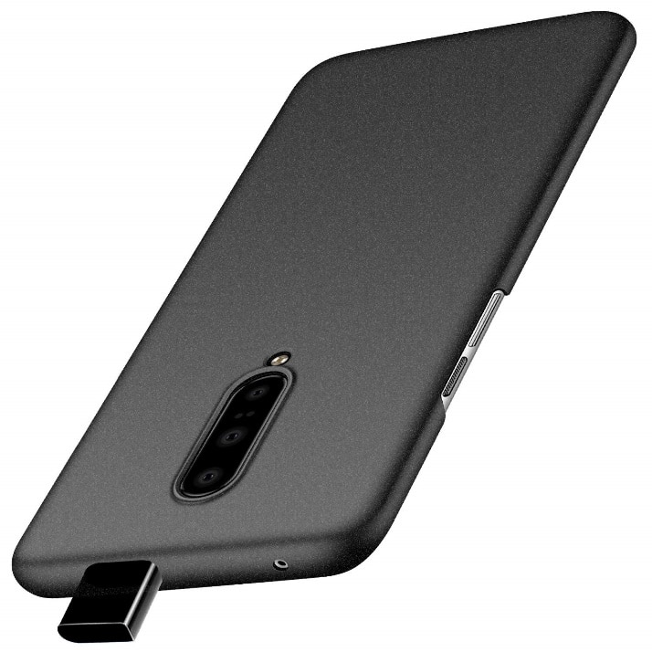 Crystal Clear Shock Absorption Rubber Case for OnePlus 7 Pro