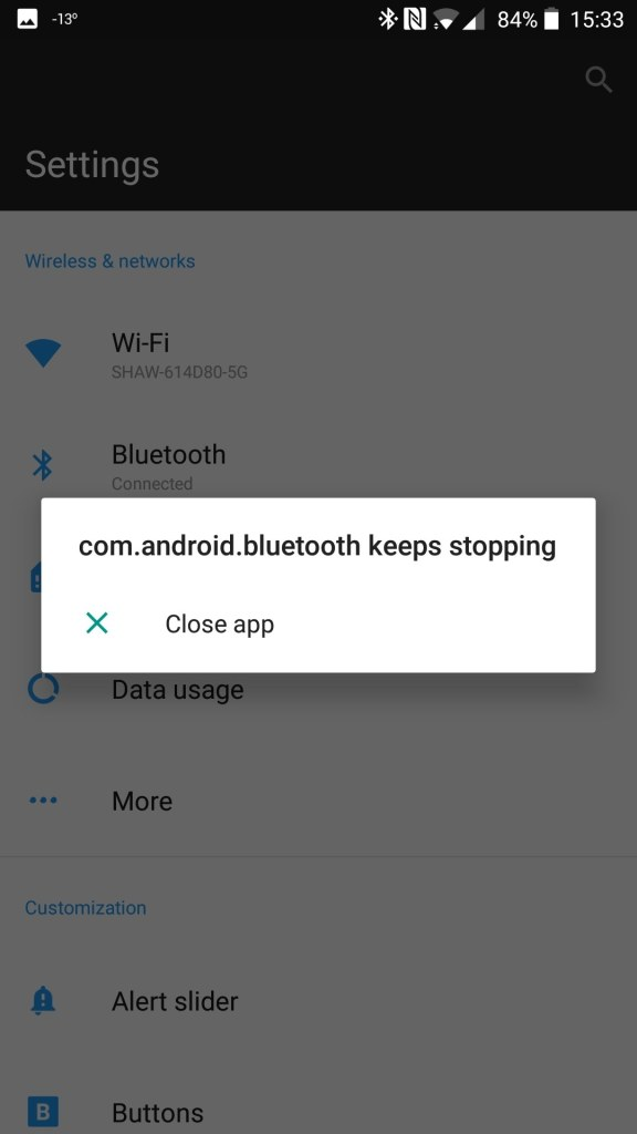 Fix Bluetooth Problem in OnePlus 7 and OnePlus 7 pro