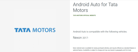 Android Auto Vehicle Compatibility