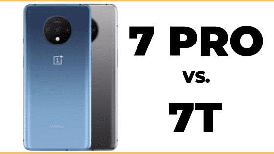 OnePlus 7 Pro vs 7T