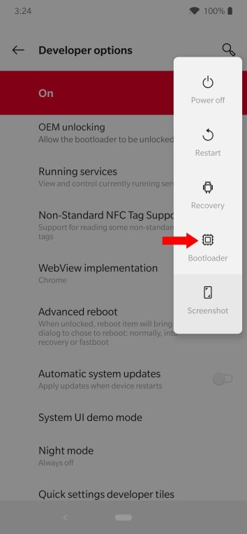 bootloader oneplus 7t
