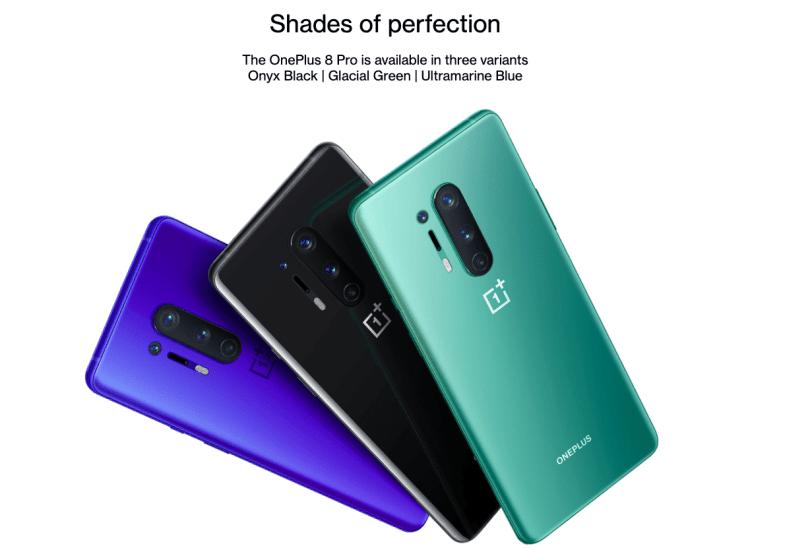 oneplus 8 pro colours