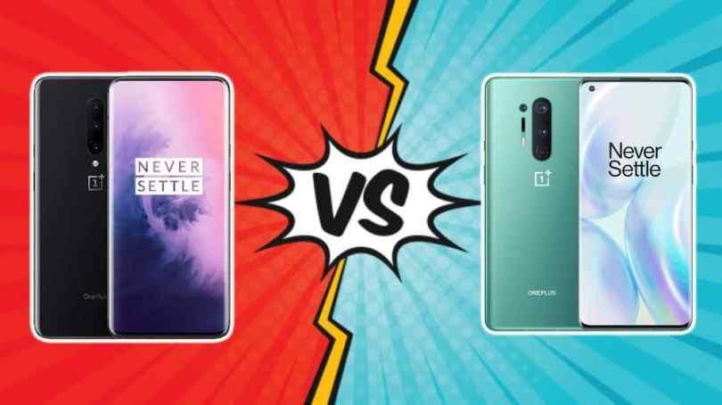 OnePlus 7 Pro vs 8 Pro