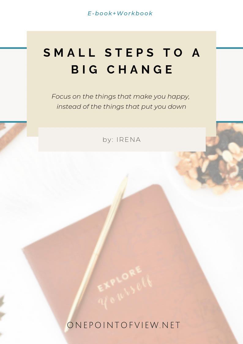 Free Workbook Small Steps to A Big Change