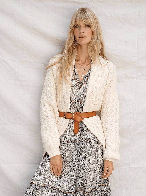 Anthropologie Cardigan Fall Wardrobe 2020