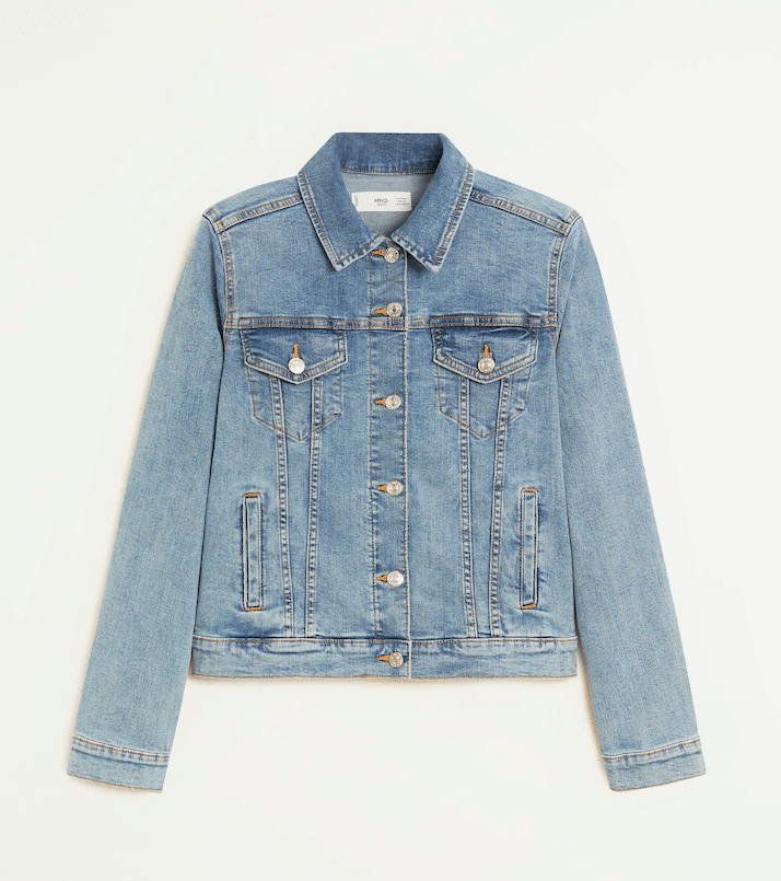 Classic Denim Jacket - Fall Outfit Style
