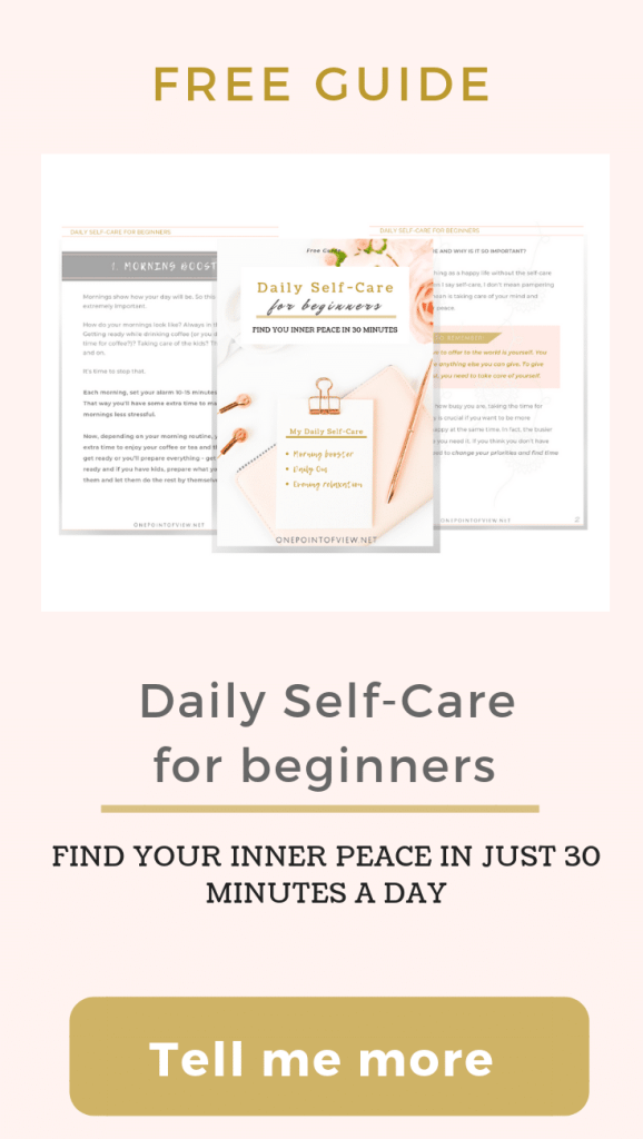 Daily Self-Care Free Guide