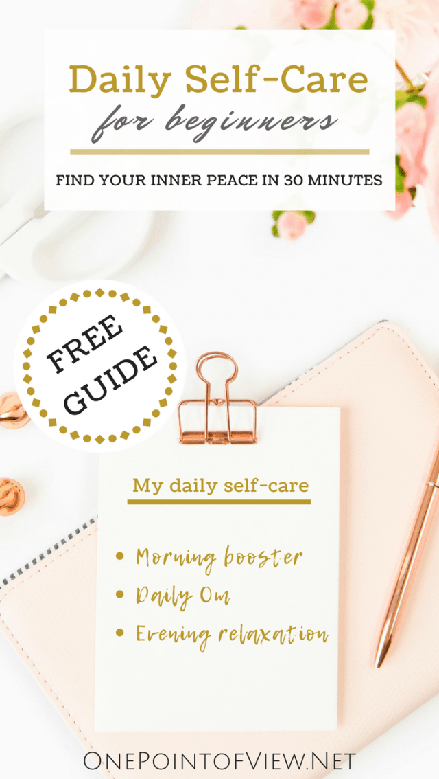 Daily Self-Care for Beginners Free Guide