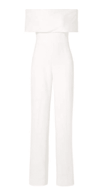 White Jumpsuit net-a-porter summer style inspiration