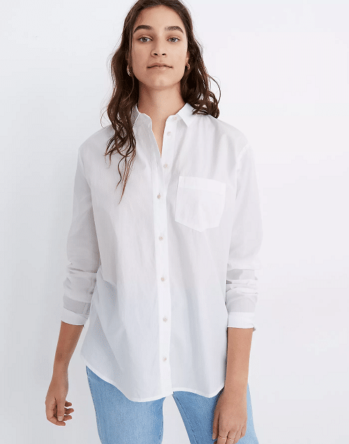 Wardrobe Basics - Must Have Clothig Items - White Shirt