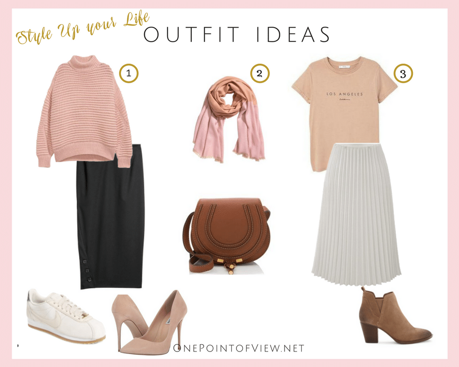 Style Up Your Life - Outfit Ideas-OnePointofView.net
