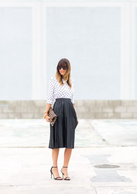To Have and to Hold: Say Hello to Spring Fashion Pieces - Polka dot Shirt