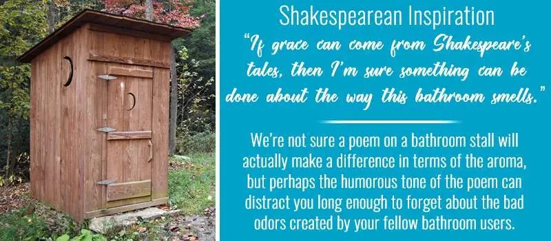 Shakespearean Bathroom Stall Quotes