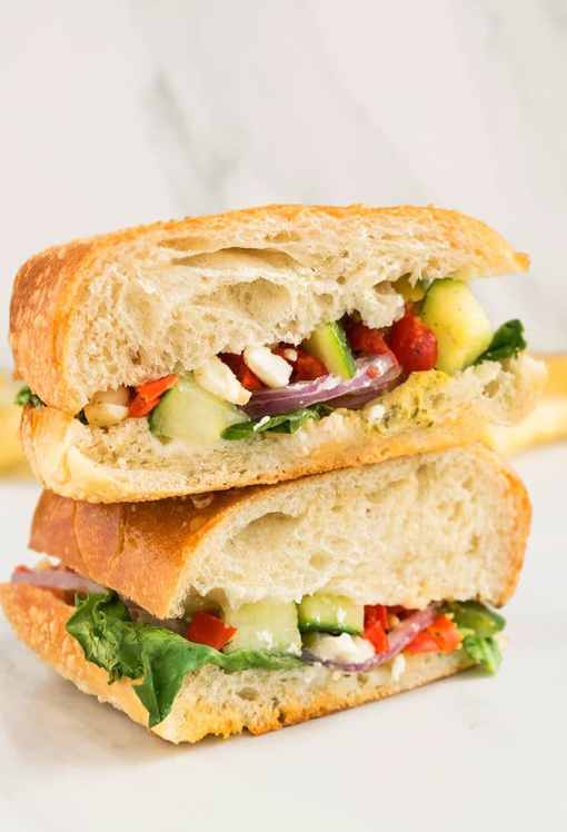 6 Easy Vegetarian Sandwich Recipes That Will Make Your Mouth Water