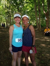 Colleen and I ran the Clam Shell Relay Race on the Island for the 4th of July!