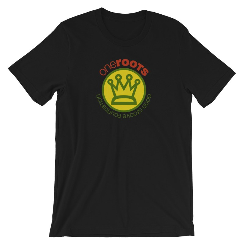 oneROOTS™ - King's Crown - T-Shirt - Black