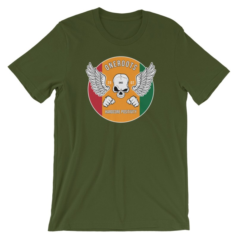 oneROOTS™ - Roots Rider - T-Shirt - Olive