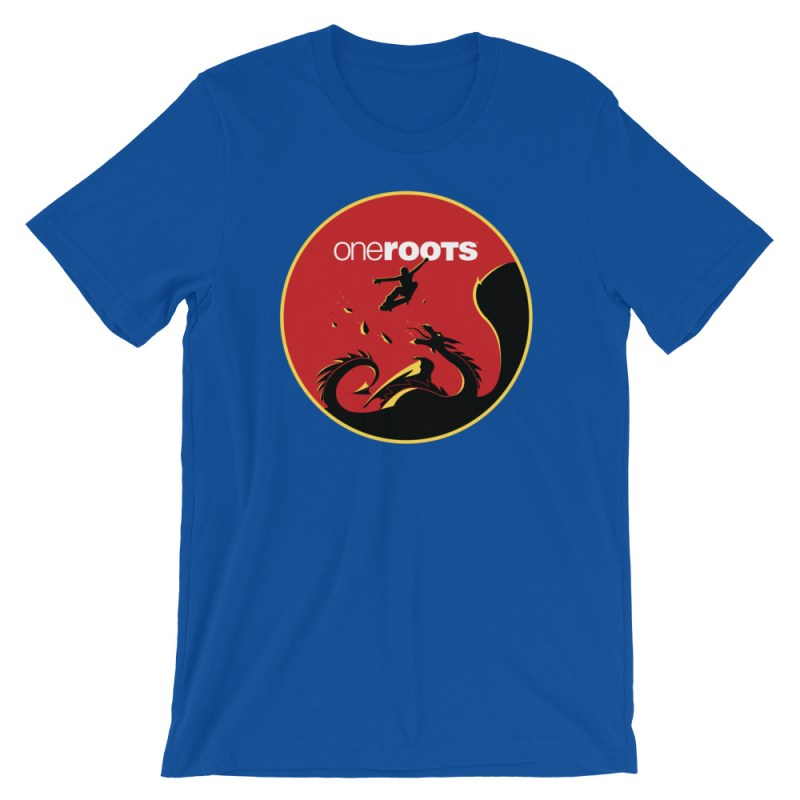 oneROOTS™ - Dragon Rider - T-Shirt - True Royal