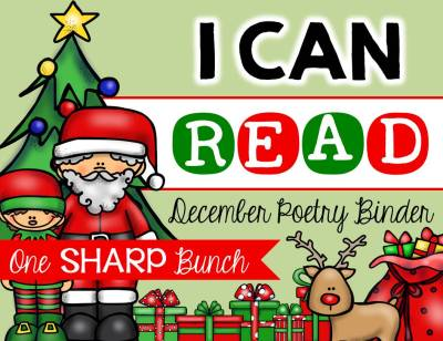 http://www.teacherspayteachers.com/Product/I-Can-Read-Poetry-Binder-December-1588938